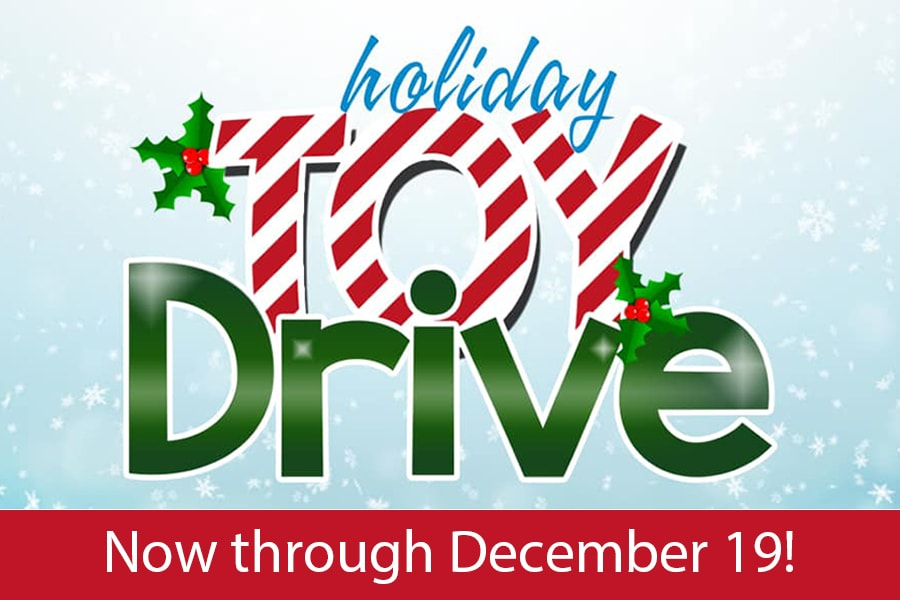 Participate in this year's holiday toy drive at Enviro Heating & Air.