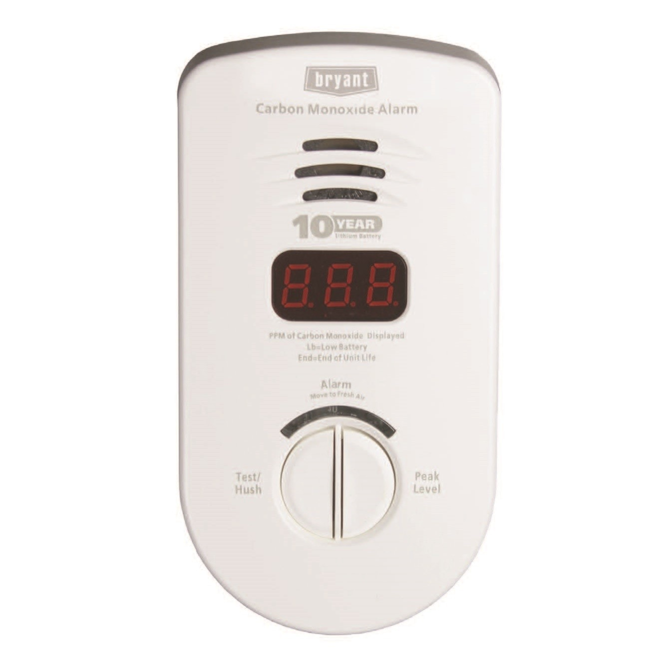 Bryant Preferred Series Carbon Monoxide Alarm